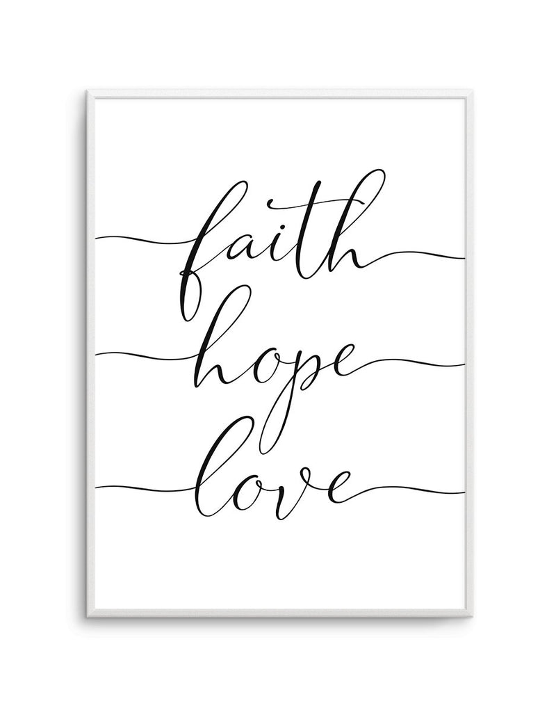 Faith Hope Love - Olive et Oriel