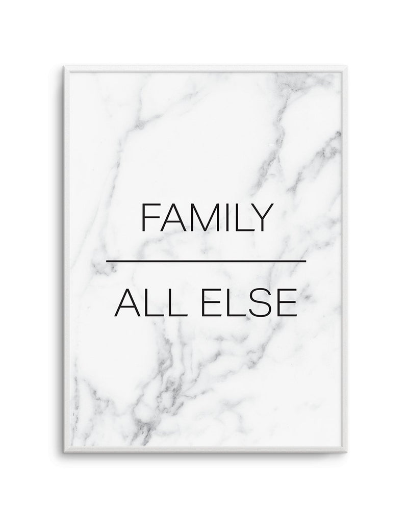Family Over All Else - Olive et Oriel | Shop Art Prints & Posters Online