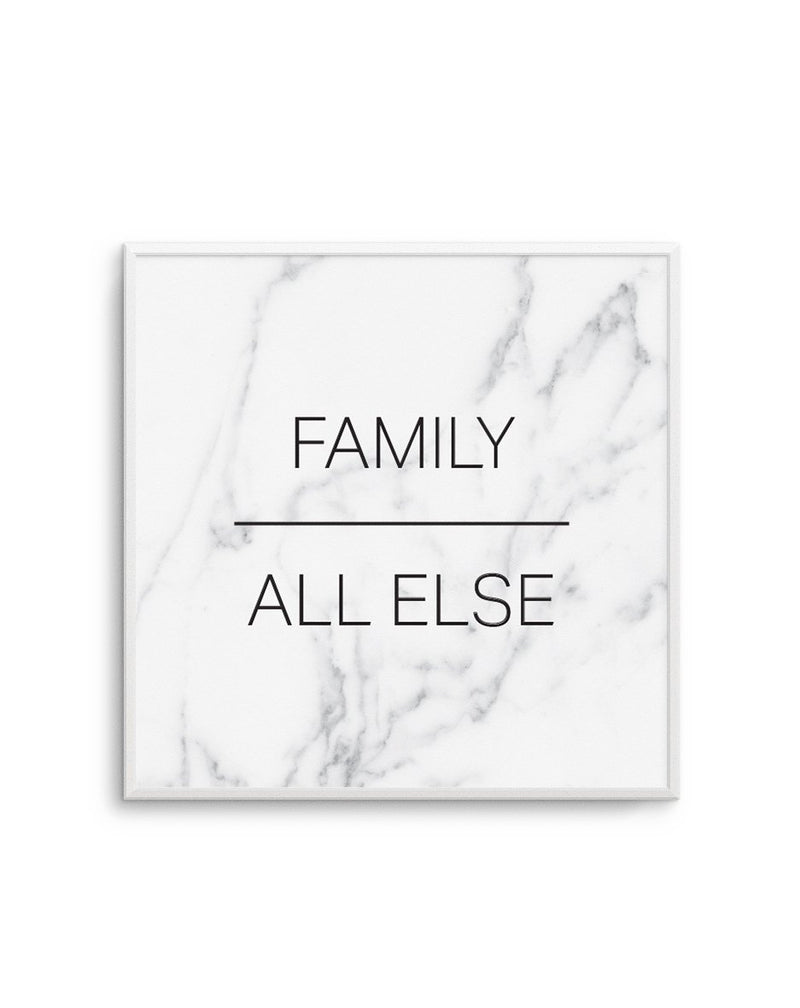 Family Over All Else | SQ - Olive et Oriel