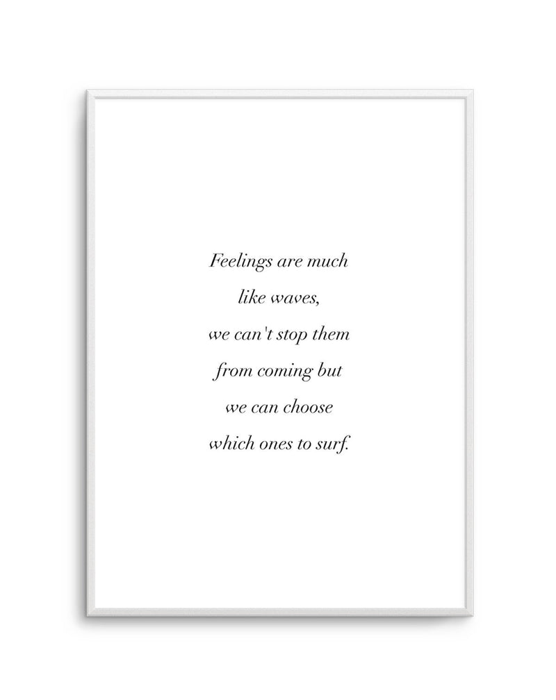 Feelings Are Like Waves - Olive et Oriel