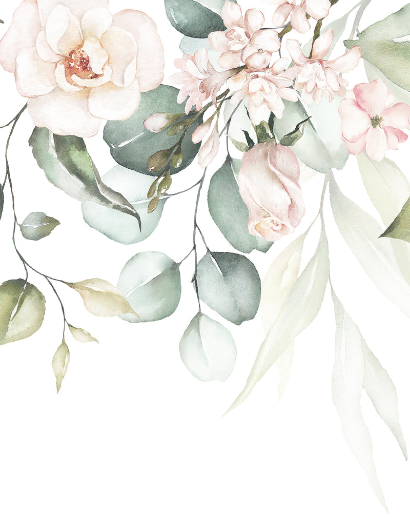 Floral Luxe Wallpaper Mural