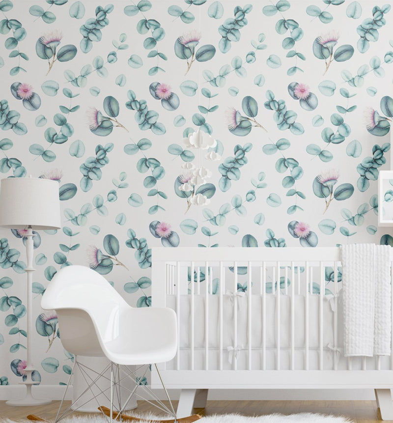 Flowering Eucalyptus Wallpaper