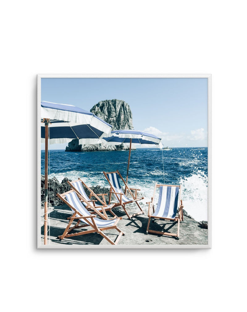 Fontelina In The Sun, Capri | Square - Olive et Oriel