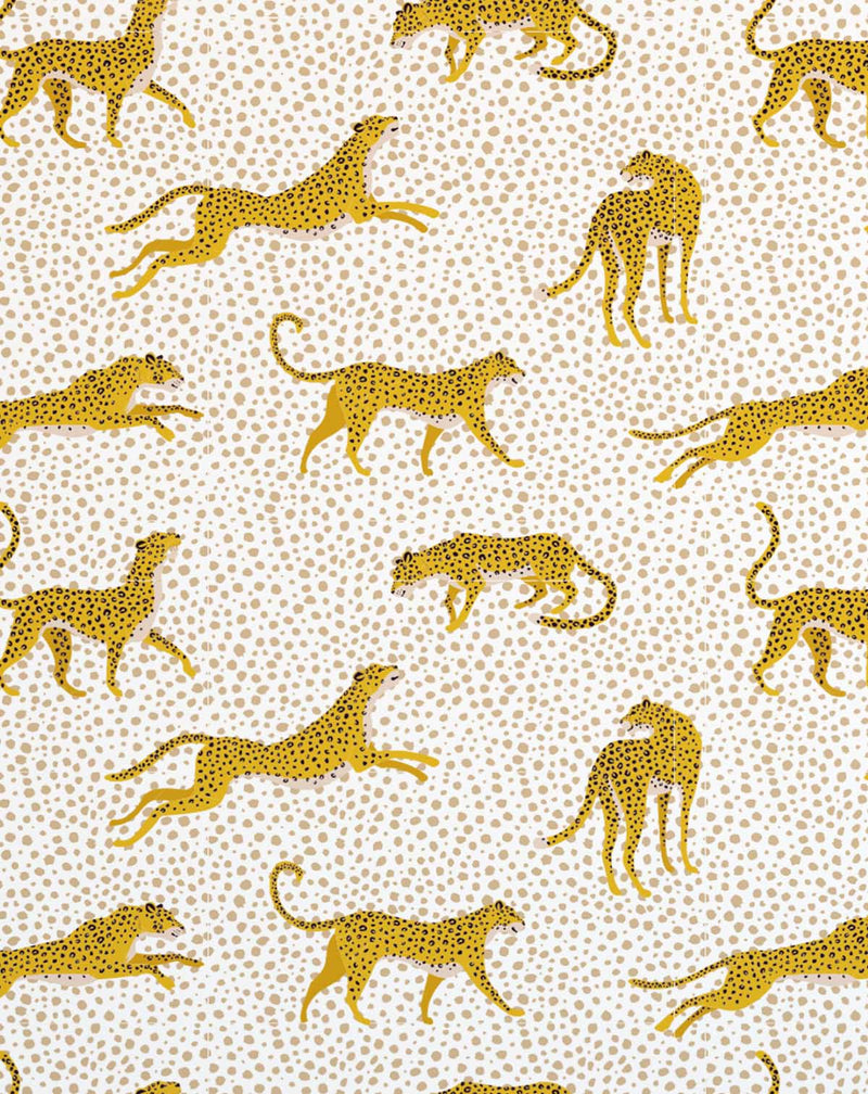 Fun Leopards Wallpaper - Olive et Oriel
