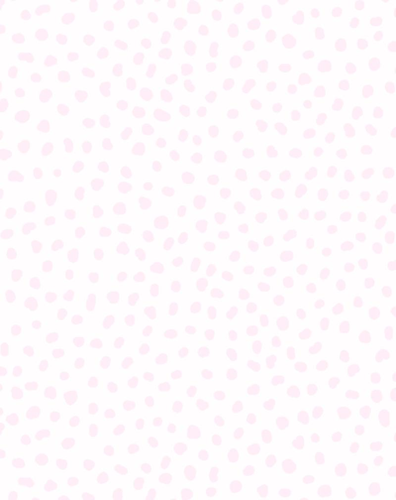 Gigi's Dots Wallpaper in Fairy Floss - Olive et Oriel