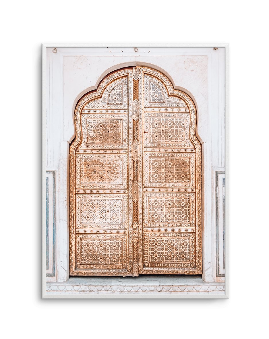 Golden Doorway | Morocco - Olive et Oriel | Shop Art Prints & Posters Online