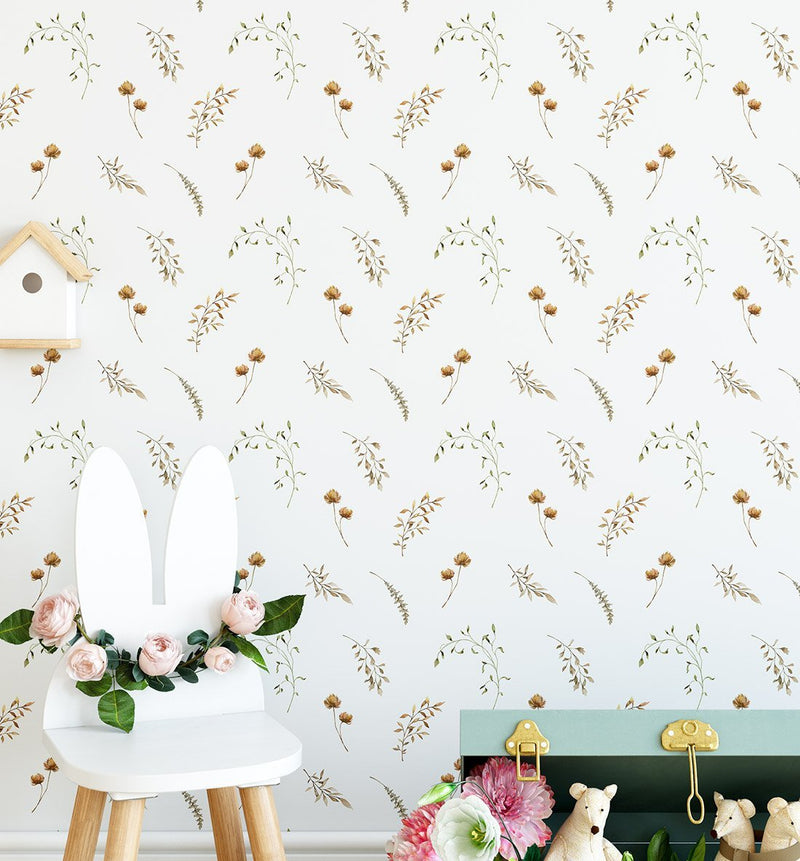 Golden Meadows Wallpaper - Olive et Oriel