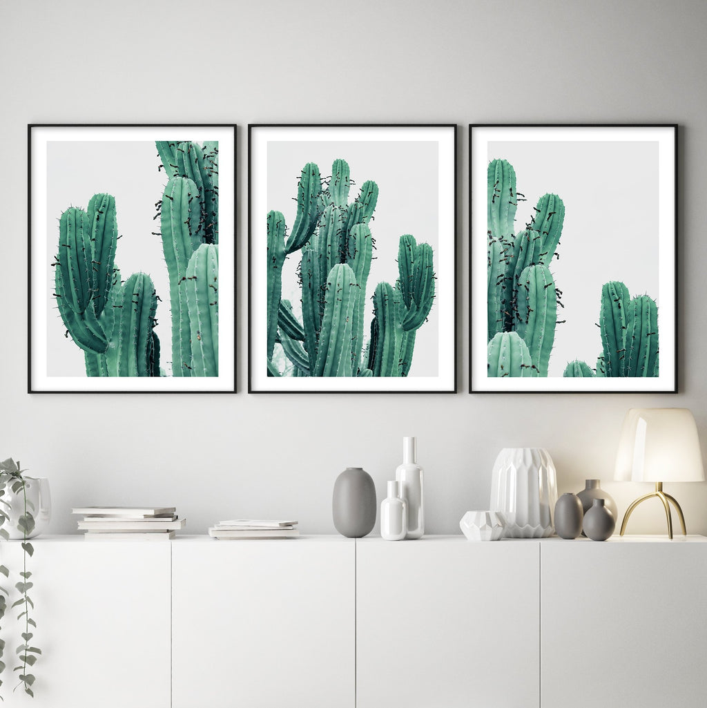 GREEN CACTUS NO 2 - Olive et Oriel | Shop Art Prints & Posters Online