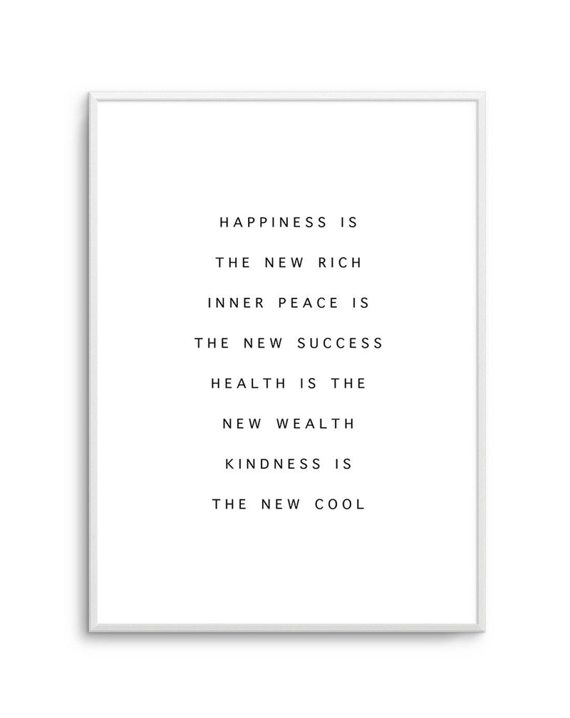 Happiness Is The New Rich - Olive et Oriel