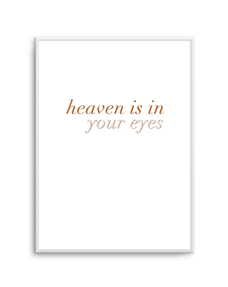 Heaven Is In Your Eyes | GOLDEN - Olive et Oriel | Shop Art Prints & Posters Online