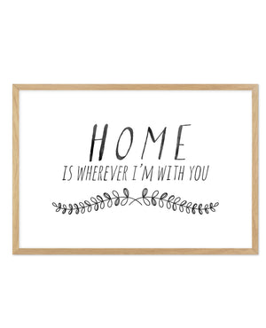 Home is... - Olive et Oriel | Shop Art Prints & Posters Online