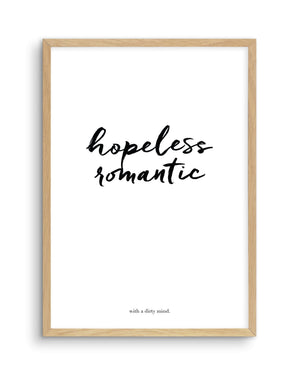 Hopeless Romantic - Olive et Oriel | Shop Art Prints & Posters Online