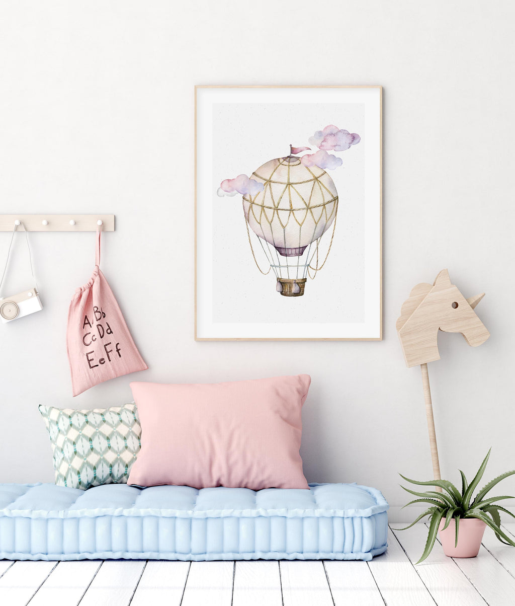 Hot Air Balloon | Pink - Olive et Oriel