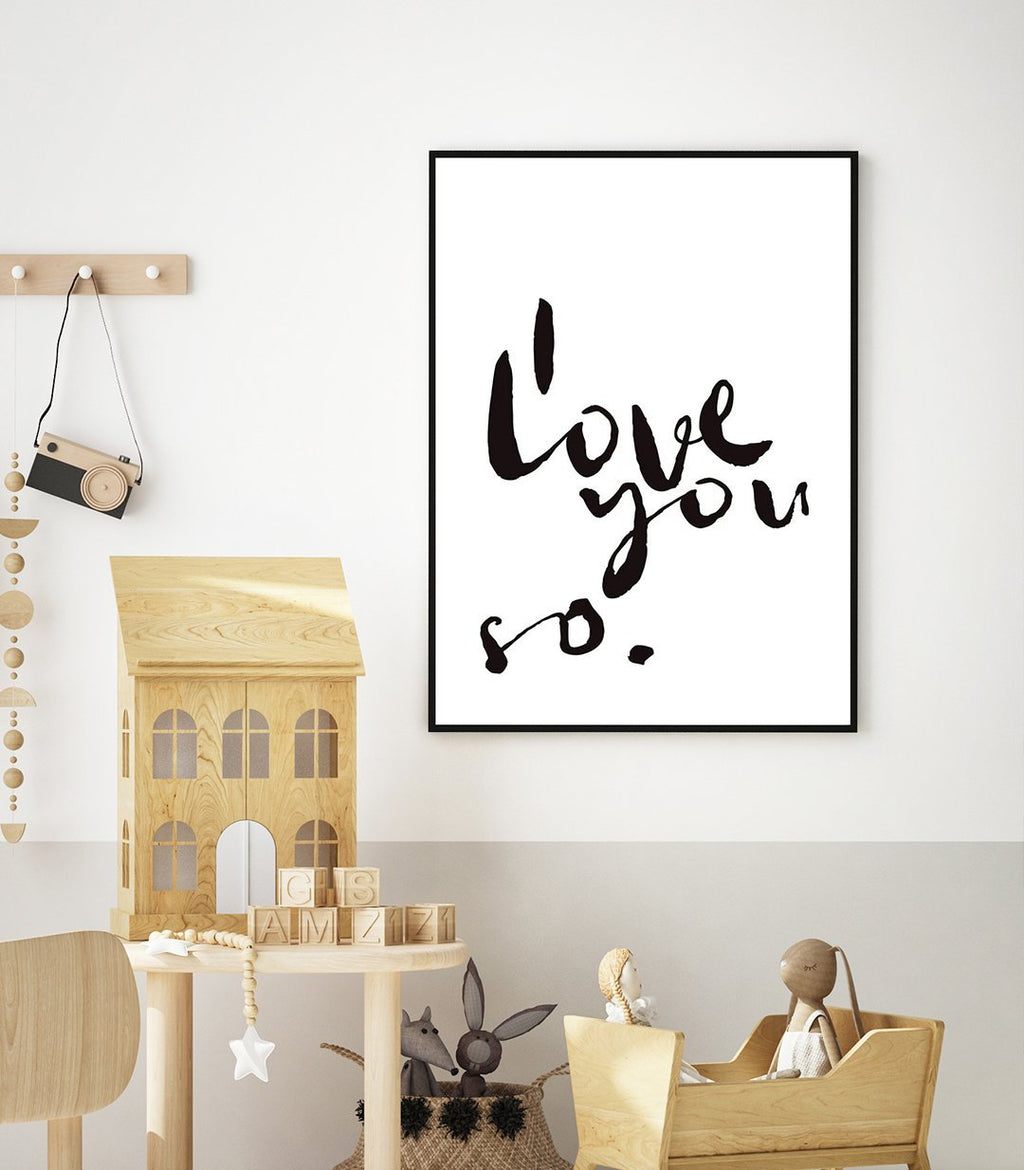 I Love You So | 2 Colour Options - Olive et Oriel