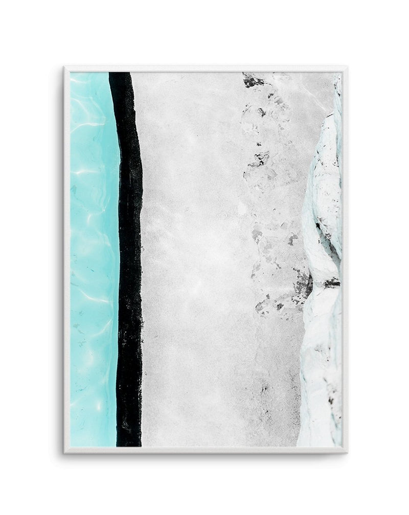 Icebergs Abstract I - Olive et Oriel | Shop Art Prints & Posters Online