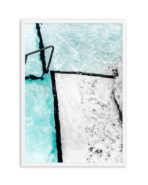 Icebergs Abstract II - Olive et Oriel | Shop Art Prints & Posters Online