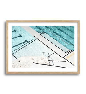 ICEBERGS STRIPES - Olive et Oriel | Shop Art Prints & Posters Online