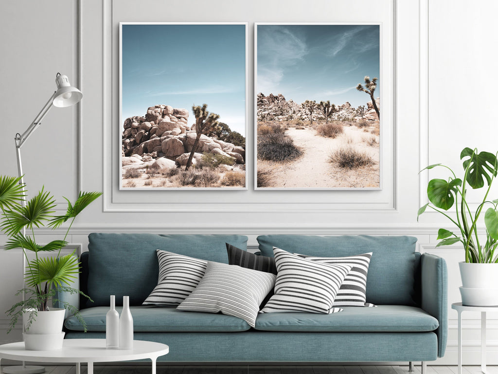 Joshua Tree | SOFT | NO 2 - Olive et Oriel | Shop Art Prints & Posters Online