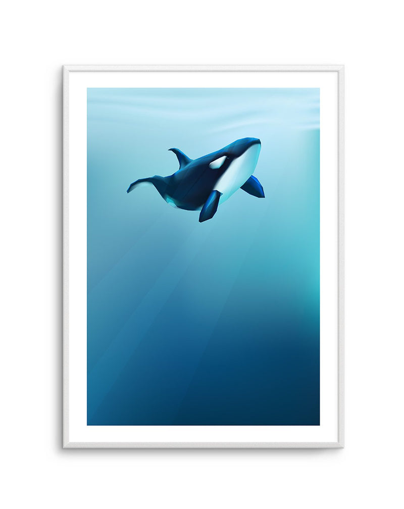 Killer | Graphic Whales Collection - Olive et Oriel