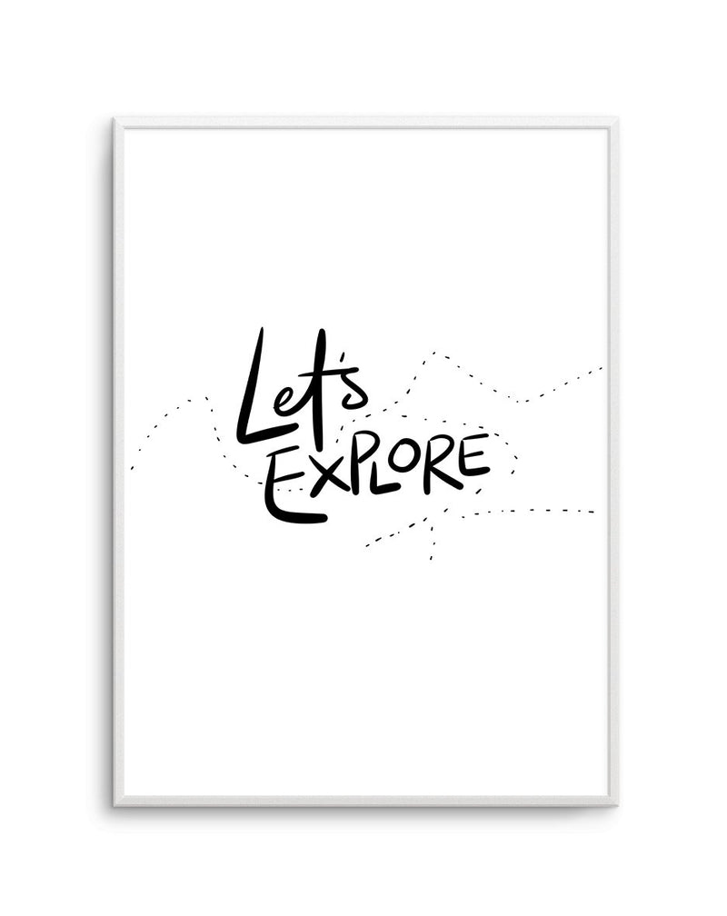 Let's Explore - Olive et Oriel | Shop Art Prints & Posters Online