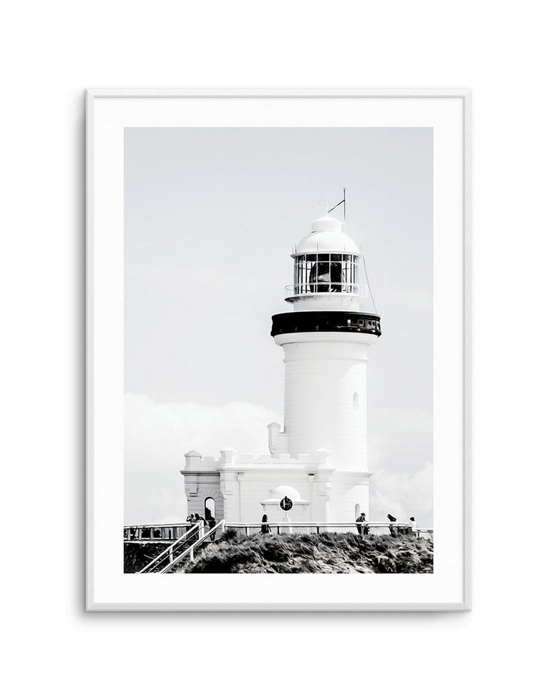 Lighthouse | Byron Bay PT - Olive et Oriel | Shop Art Prints & Posters Online