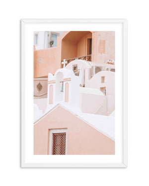 Little Blue Bell | Santorini - Olive et Oriel | Shop Art Prints & Posters Online