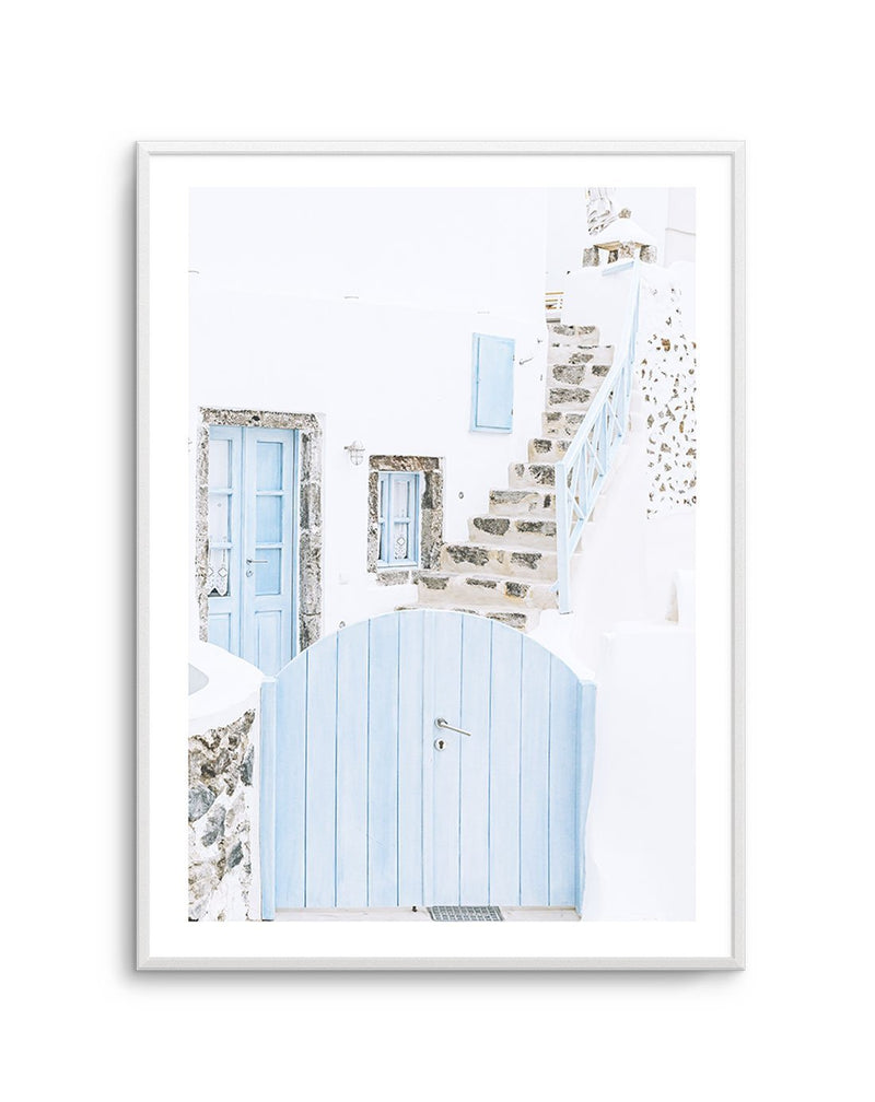 Little Blue Gate, Santorini - Olive et Oriel