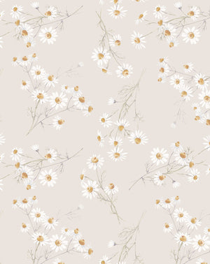 Little Daisy Chain Wallpaper - Olive et Oriel