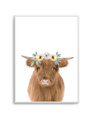 Little Highlander Cow - Olive et Oriel