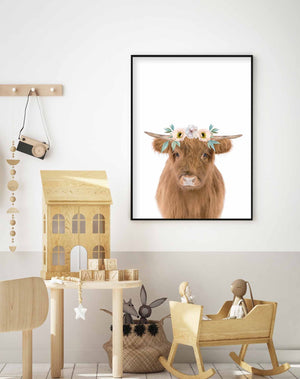 Little Highlander Cow | Girls - Olive et Oriel