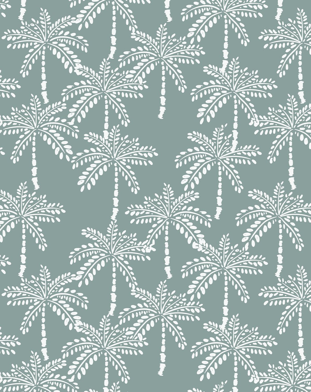 Little Khaki Palm Wallpaper - Olive et Oriel