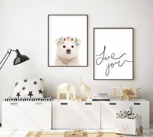 Little Polar Bear | Girls - Olive et Oriel