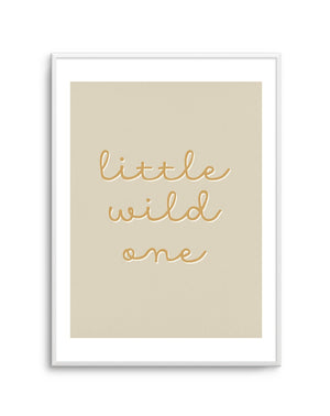 Little Wild One - Olive et Oriel