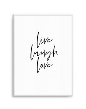 Live, Laugh, Love - Olive et Oriel | Shop Art Prints & Posters Online