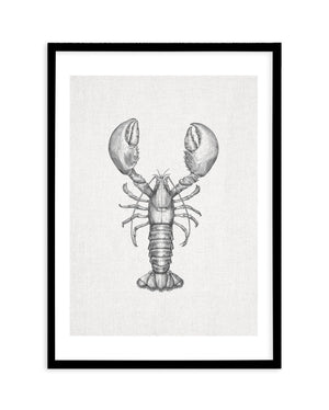 Lobster on Linen - Olive et Oriel