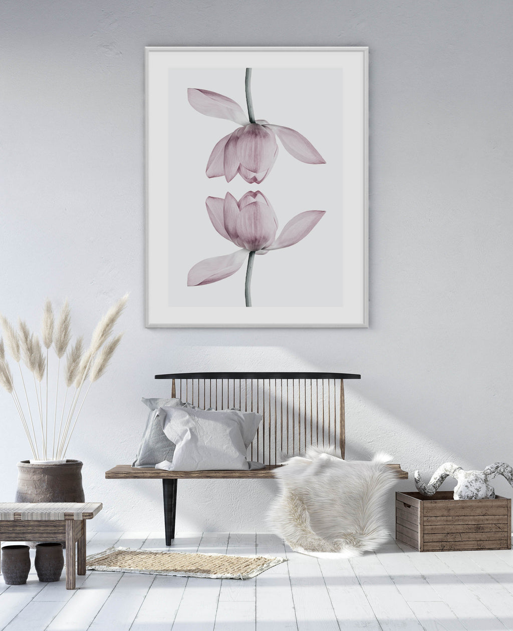 Lotus In Reflection - Olive et Oriel | Shop Art Prints & Posters Online