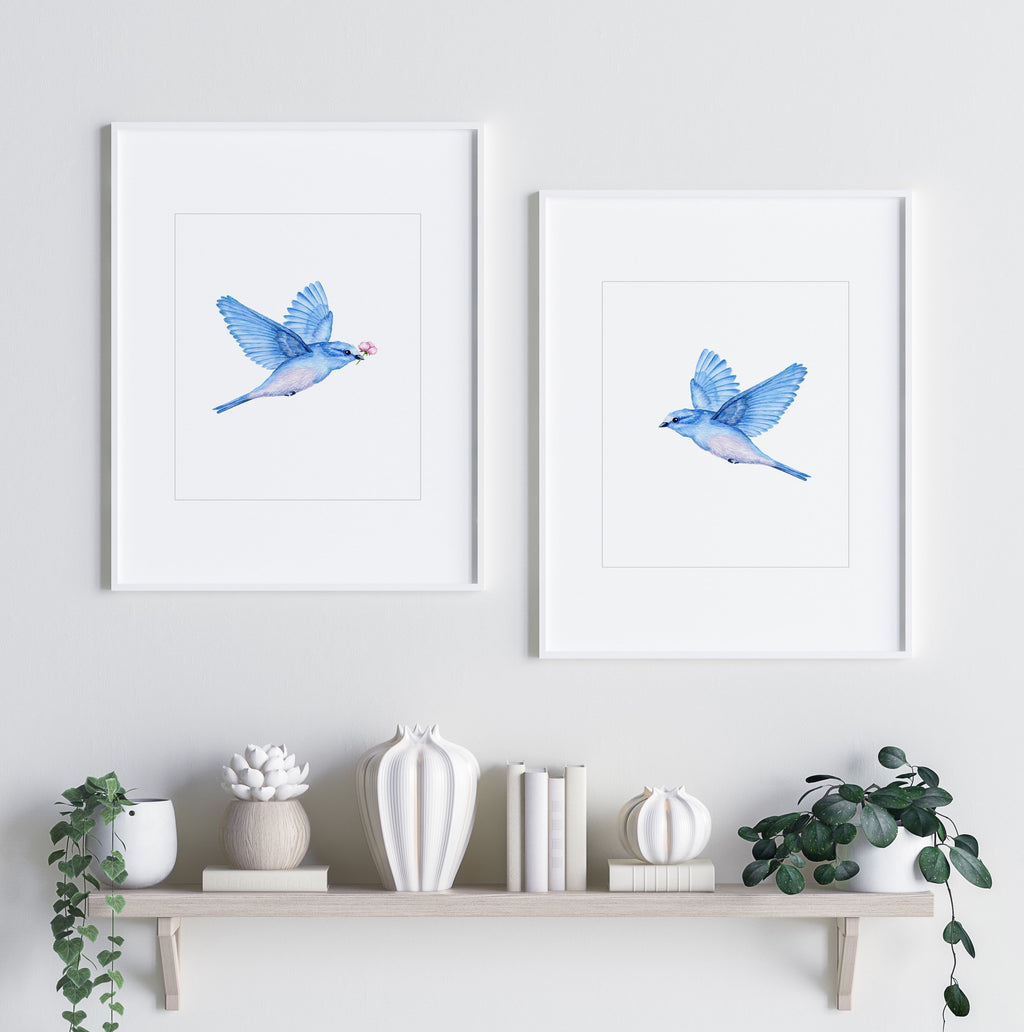 Love Bird I - Olive et Oriel | Shop Art Prints & Posters Online