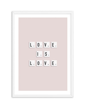 Love Is Love | Letter Tiles - Olive et Oriel