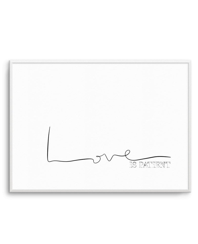 Love Is Patient - Olive et Oriel | Shop Art Prints & Posters Online