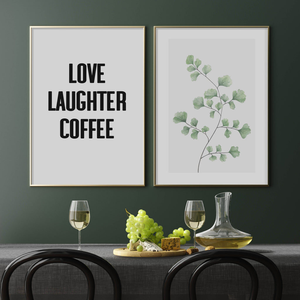 Love Laughter Coffee & Maidenhair Fern | Perfect Pair - Olive et Oriel
