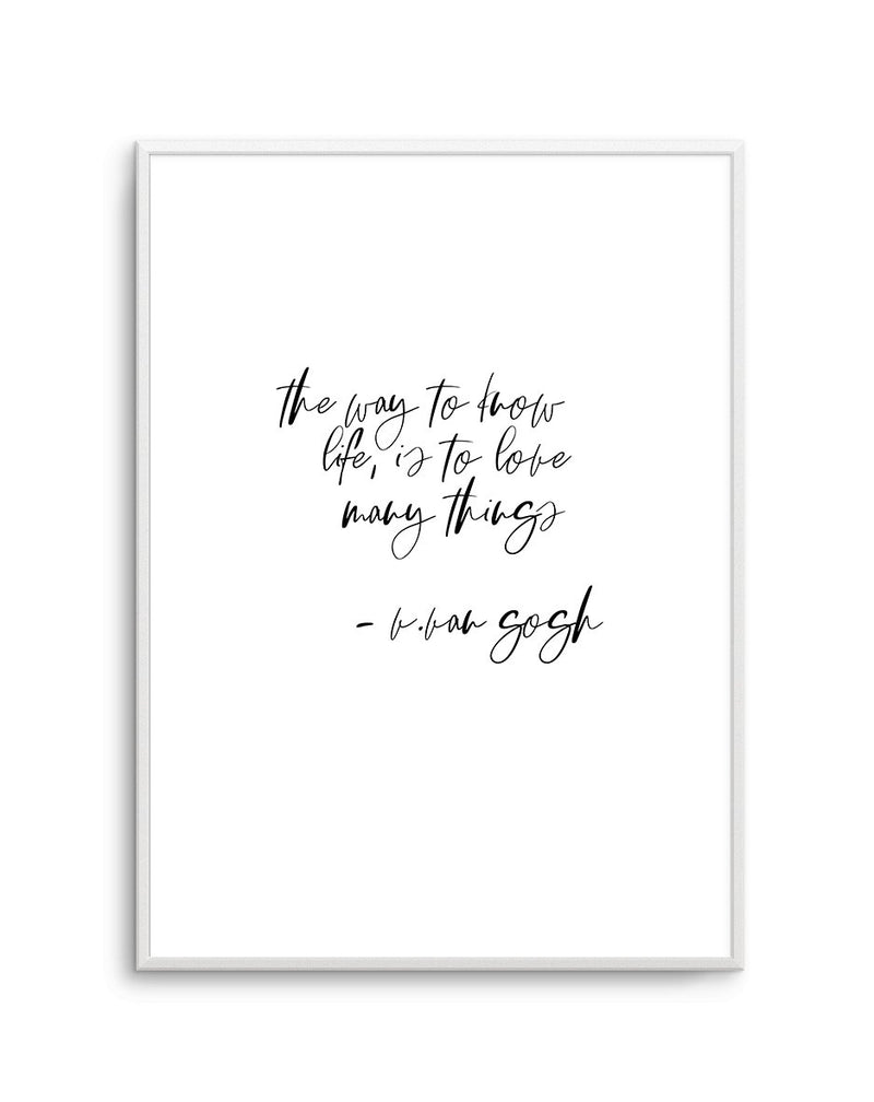 Love Many Things - Olive et Oriel | Shop Art Prints & Posters Online