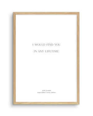Love Quote 3 | Personalise Me! - Olive et Oriel | Shop Art Prints & Posters Online
