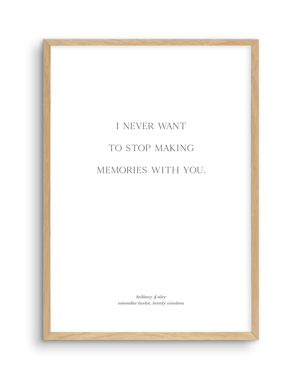 Love Quote 4 | Personalise Me! - Olive et Oriel | Shop Art Prints & Posters Online