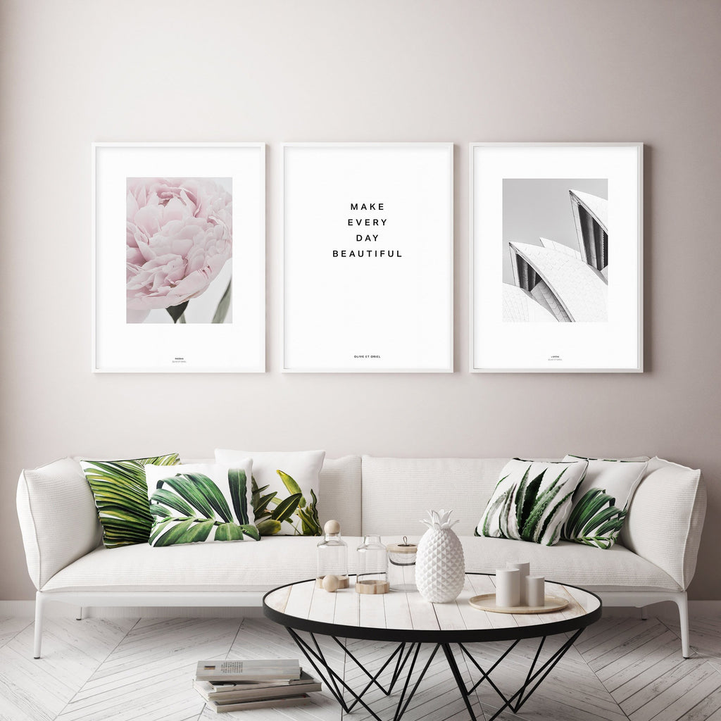 Make Every Day Beautiful - Olive et Oriel | Shop Art Prints & Posters Online