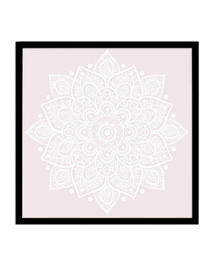 Mandala | Muted Blush - Olive et Oriel | Shop Art Prints & Posters Online
