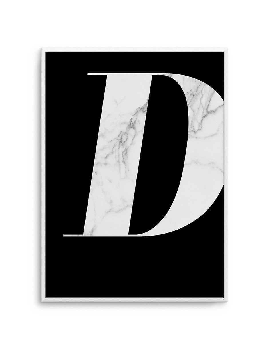Marble On Black - Olive et Oriel | Shop Art Prints & Posters Online