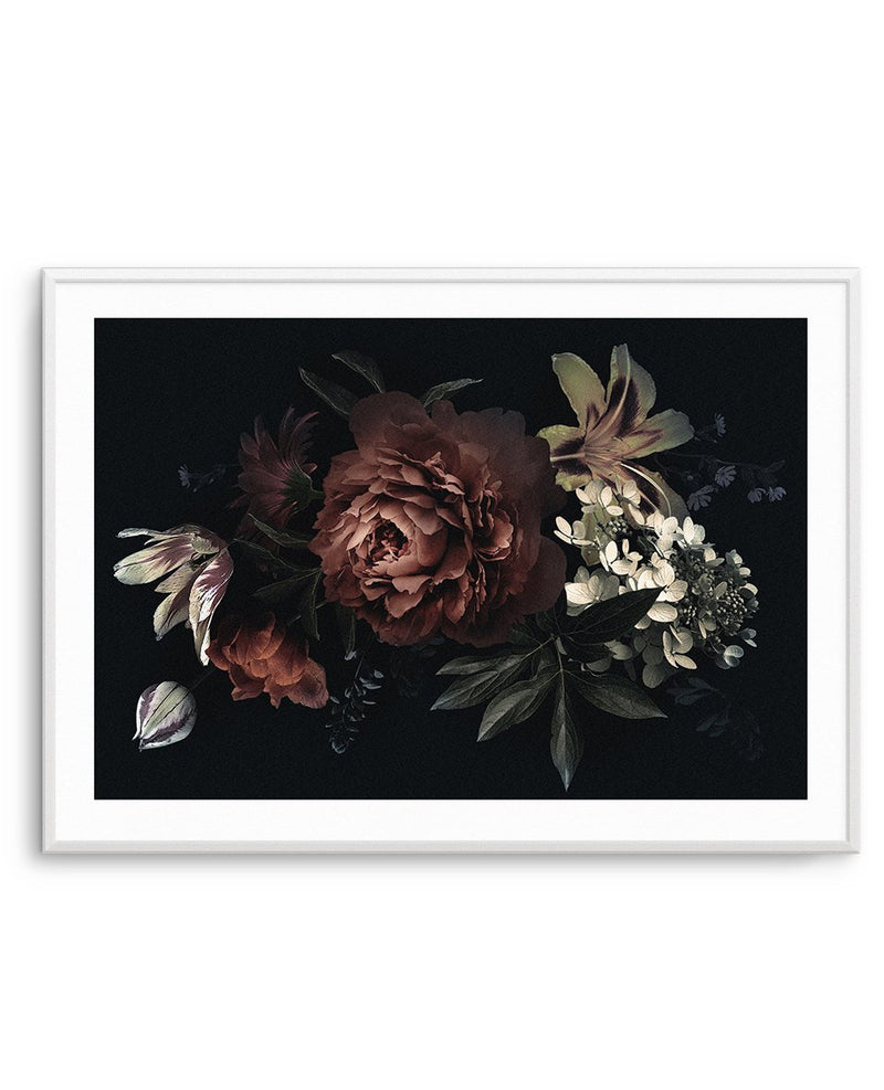 Midnight Botanica Illustration LS - Olive et Oriel