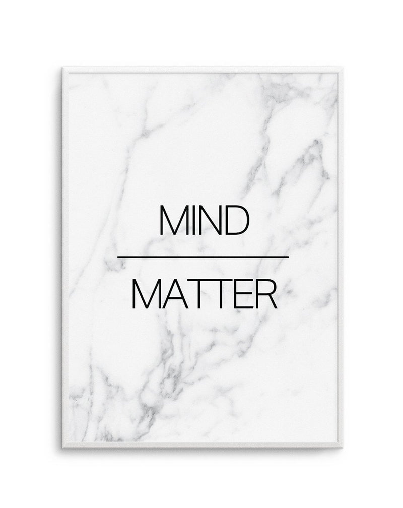 Mind Over Matter - Olive et Oriel | Shop Art Prints & Posters Online