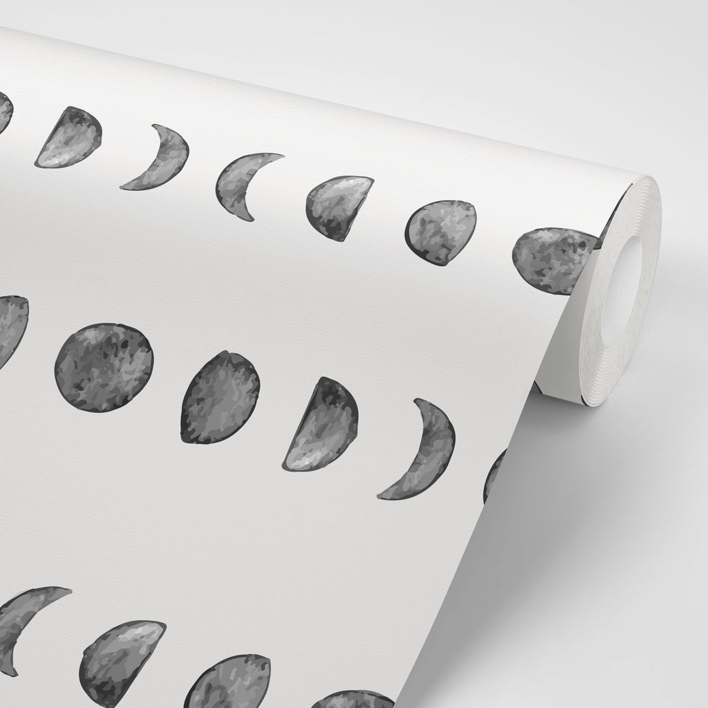 Moon Phases Wallpaper - Olive et Oriel