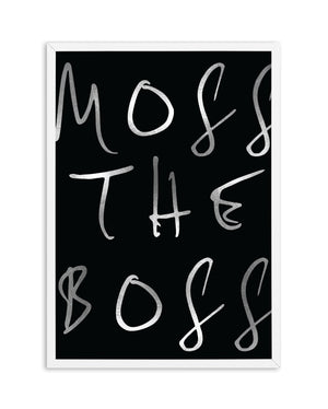 Moss The Boss - Olive et Oriel | Shop Art Prints & Posters Online